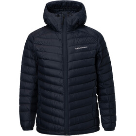 Peak Performance M's Frost Down Hooded Jacket Salute Blue